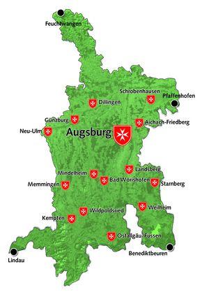 Landkreis Augsburg Karte.Malteser Augsburg Malteser Diozesanverband Augsburg